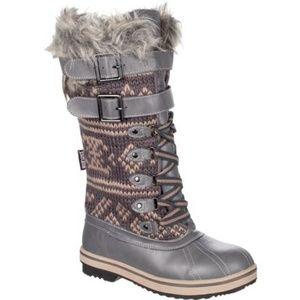 Muk Luks Allie Faux Fur Winter Boot Sizes 7 & 9